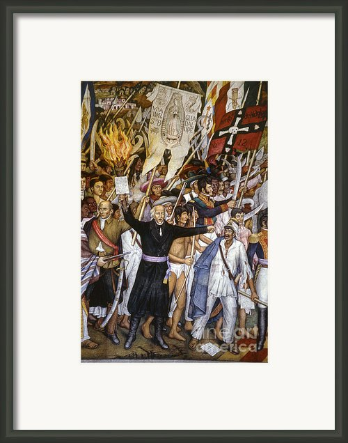 Mexico: 1810 Revolution Framed Print By Granger