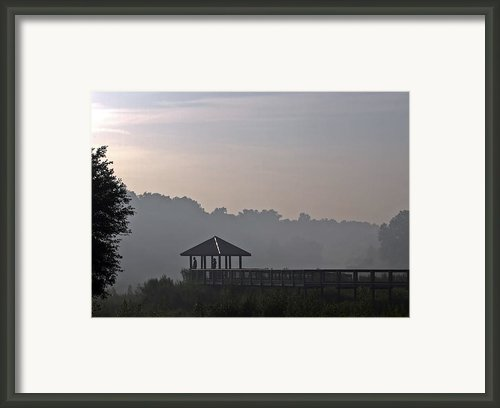 Morning Fog Framed Print By Farol Tomson