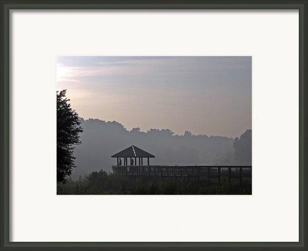 Morning Fog Framed Print By Farol Tomson