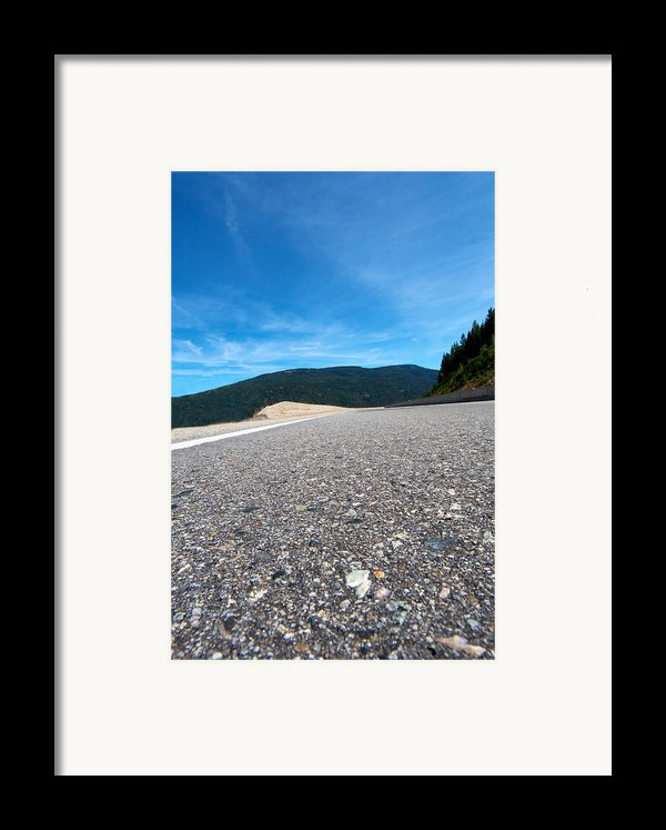 Mountain Highway Framed Print By Ivan Sabo