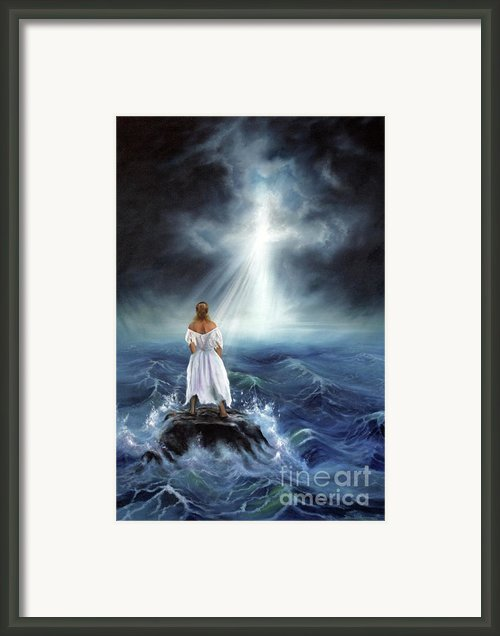 My Deliverer Framed Print By Jeanette Sthamann