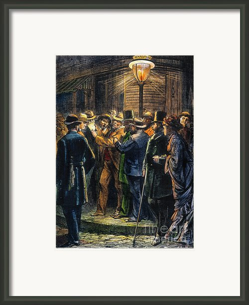 New York: Election, 1876 Framed Print By Granger