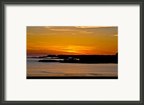 Night Glow Framed Print By Gary Finnigan