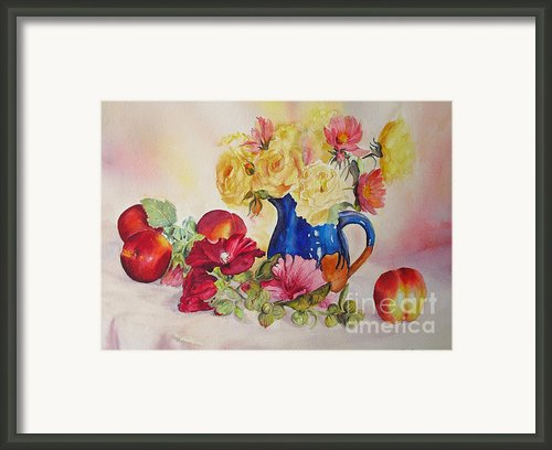 Once Upon A Summer Framed Print By Beatrice Cloake