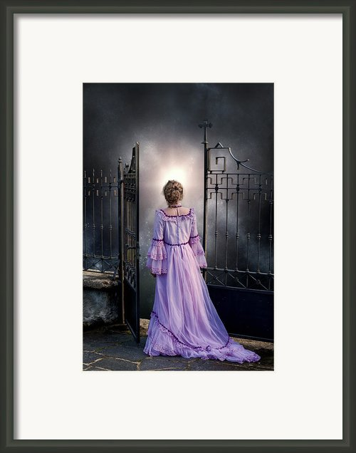 Open Gate Framed Print By Joana Kruse