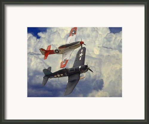 Over The Clouds Framed Print By Stefan Kuhn