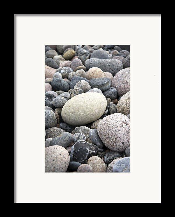 Pebbles Framed Print By Frank Tschakert