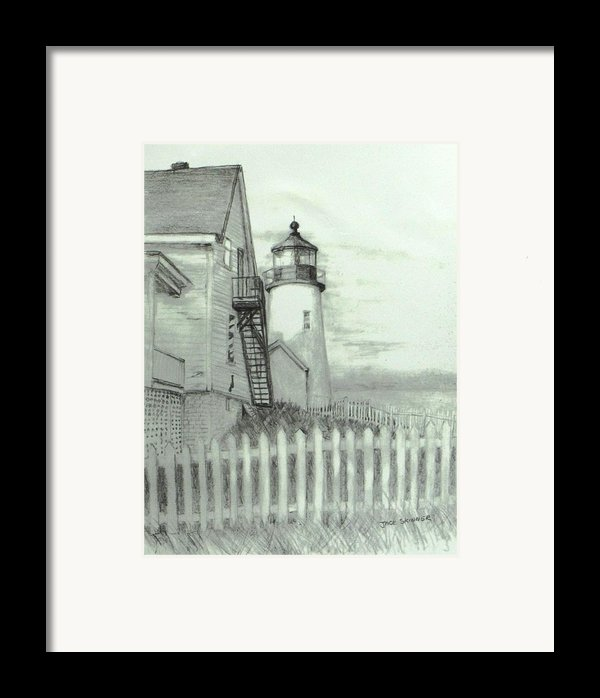 Pemaquid Lighthouse  Framed Print By Jack Skinner