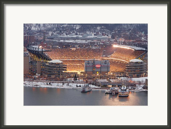 Pittsburgh 4 Framed Print By Emmanuel Panagiotakis