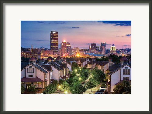 Pittsburgh 7 Framed Print By Emmanuel Panagiotakis