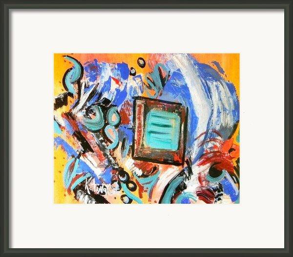 Pizazz Framed Print By Katina Cote