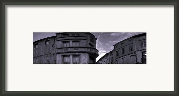 Place De La Vie Gaillac Framed Print By Ed Gold