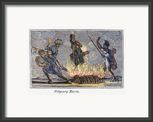 Polycarp Of Smyrna Framed Print By Granger