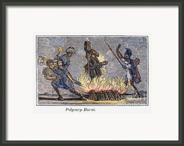 Polycarp Of Smyrna Framed Print By Granger