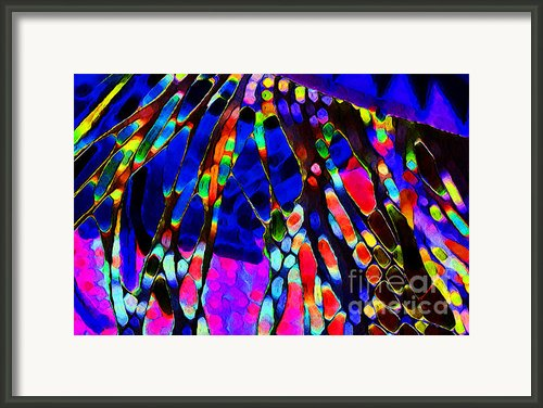 Prayer Flags Framed Print By Terril Heilman