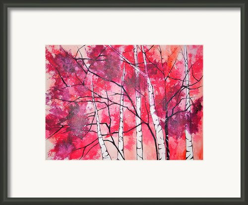 Pretty In Pink Framed Print By Amanda G Wright