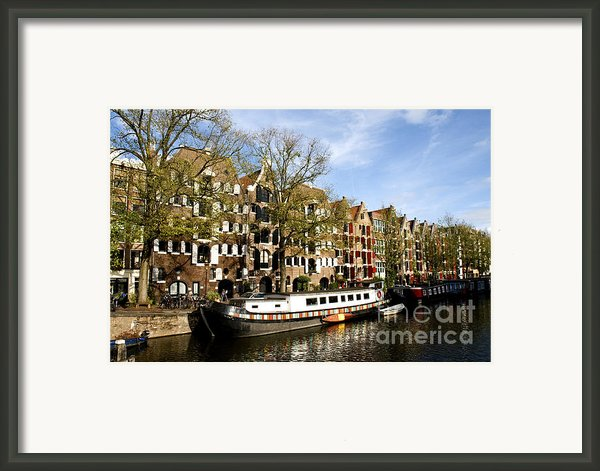 Prinsengracht Framed Print By Fabrizio Troiani