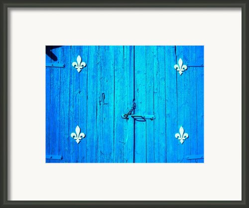 Quebec ... Framed Print By Juergen Weiss