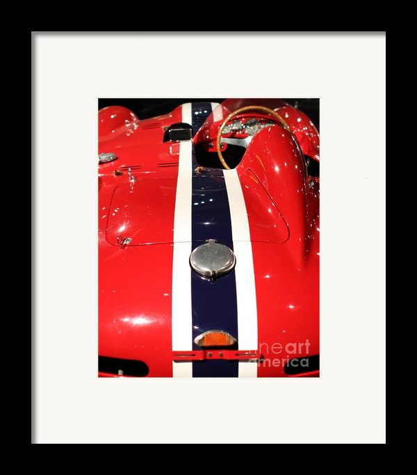 Racing Stripes Framed Print By Wingsdomain Art And Photography