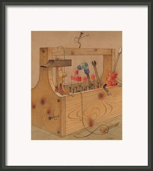 Rebellion Against Dictator Hammer Framed Print By Kestutis Kasparavicius