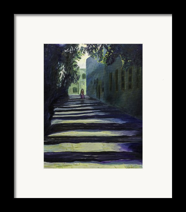 Reflection Framed Print By Iris Gill