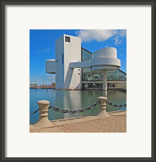 Rock And Roll Hall Of Fame Framed Print By Dave Mills