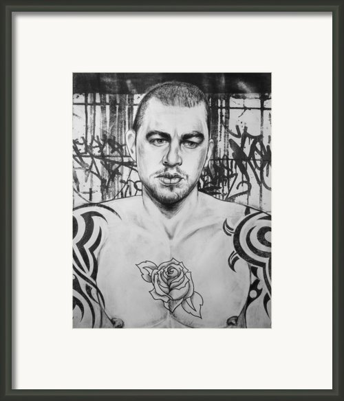Rose Tattoo Framed Print By Carmine Santaniello