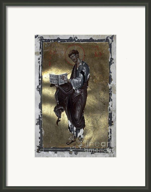 Saint Luke Framed Print By Granger