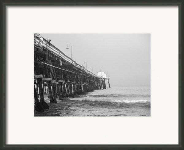 San Clemente Pier Framed Print By Ralf Kaiser