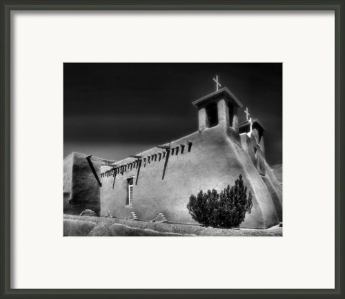 San Francisco De Asis Church Iv Framed Print By Steven Ainsworth