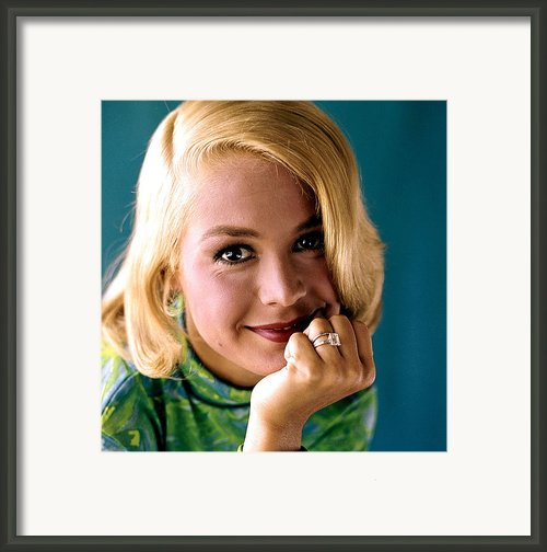 Sandra Dee, Ca. Early 1960s Framed Print By Everett