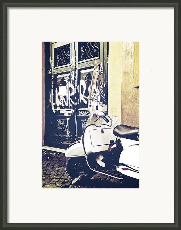 Scooter Framed Print By Joana Kruse