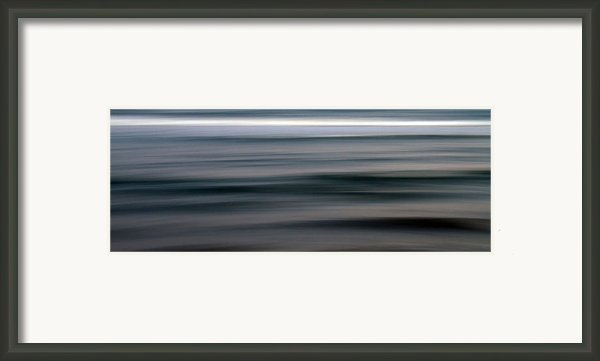 Sea Framed Print By Stylianos Kleanthous