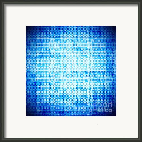 Seamless Honeycomb Pattern Framed Print By Setsiri Silapasuwanchai