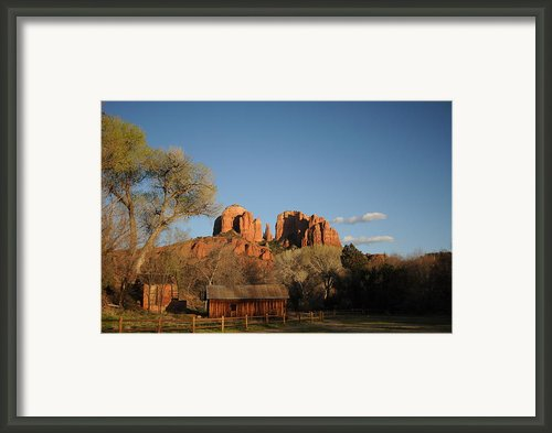 Sedona 014 Framed Print By Earl Bowser