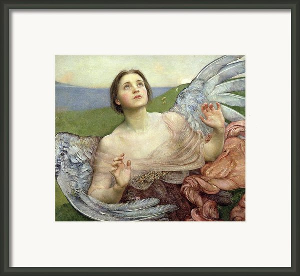 Sense Of Sight Framed Print By Annie Louisa Swinnerton