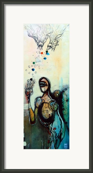 Separation Of Mind Framed Print By Mark M  Mellon