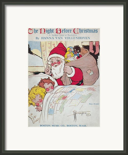 Sheet Music Cover, 1911 Framed Print By Granger