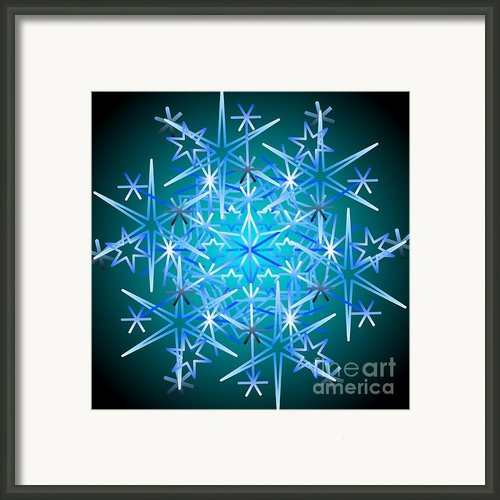 Snowflake Ii 2011 Framed Print By Kathryn Strick