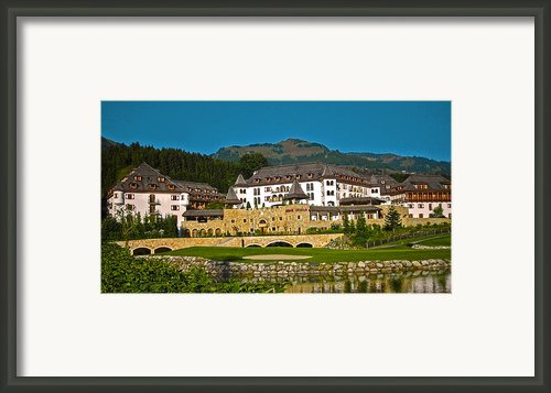 Spa Resort A-rosa - Kitzbuehel Framed Print By Juergen Weiss