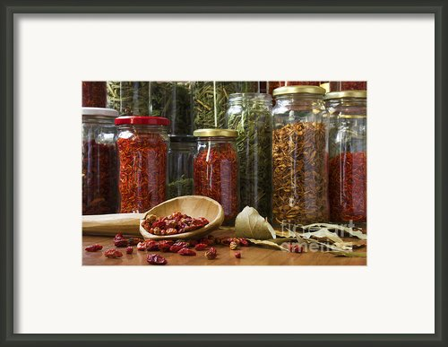 Spicy Still Life Framed Print By Carlos Caetano