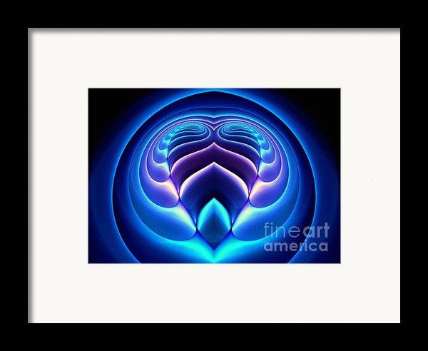 Spiral-3 Framed Print By Klara Acel
