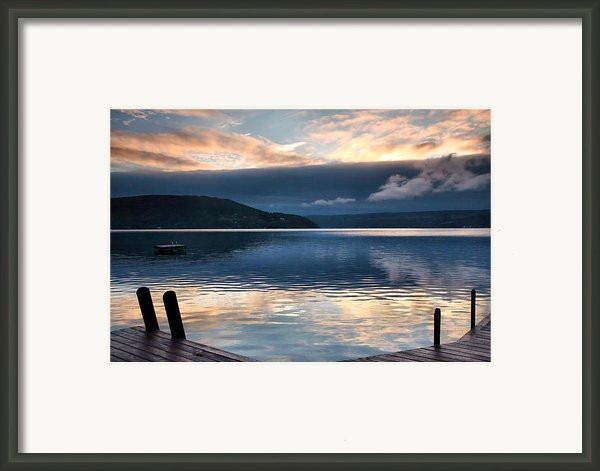Storm Clearing Framed Print By Steven Ainsworth