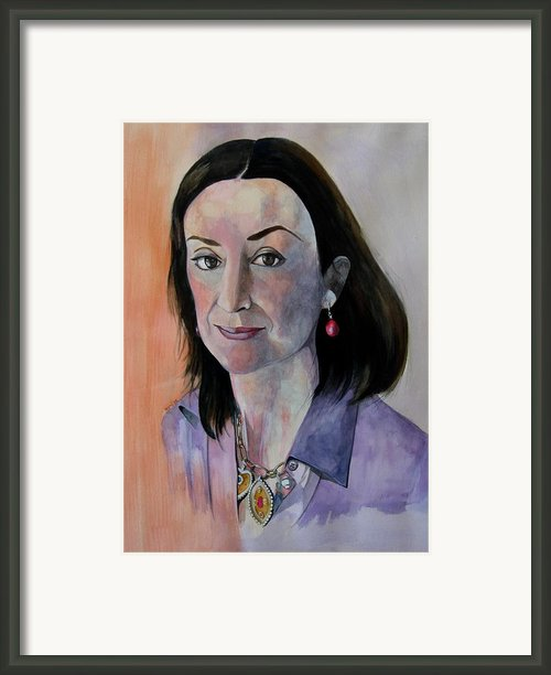 Study For Daphne Framed Print By Ray Agius