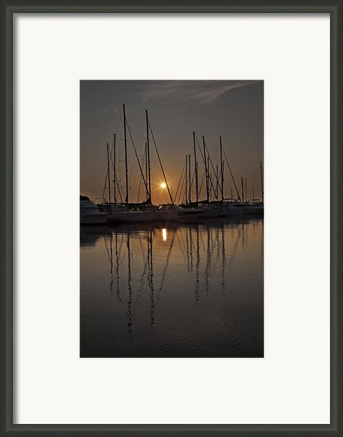 Sunset Framed Print By Joana Kruse