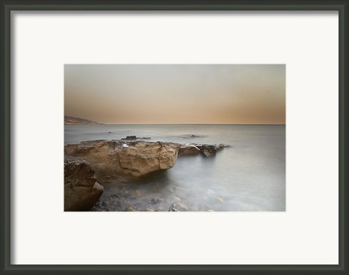 Sunset On The Mediterranean Framed Print By Joana Kruse