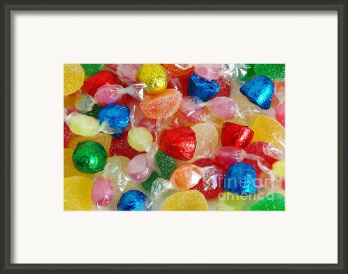 Sweet Candies Framed Print By Carlos Caetano