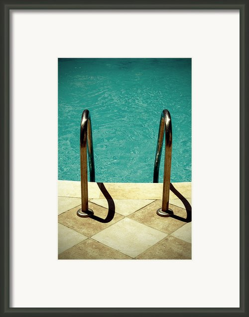 Swimming Pool Framed Print By Joana Kruse