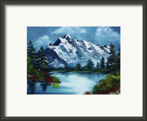 Take A Breath Framed Print By Barbara Teller