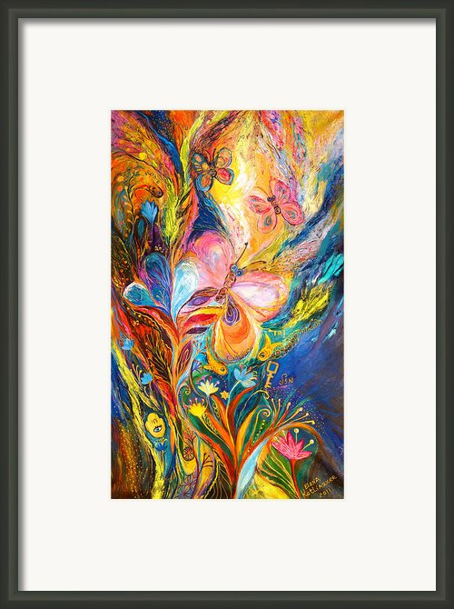 The Butterflies Framed Print By Elena Kotliarker
